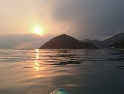 middle island to repulse bay spot de SUP em Hong Kong