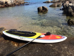 Ilhas Itatiaia paddle board spot in Brazil