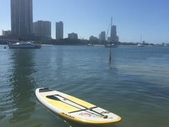 Southport sitio de stand up paddle / paddle surf en Australia