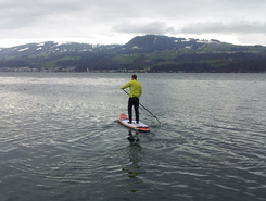Risi spot de stand up paddle en Suisse