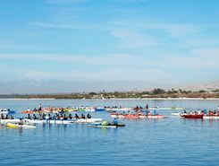 Salton Sea SRA North Shore, California sitio de stand up paddle / paddle surf en Estados Unidos