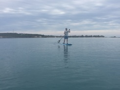 Governors harbor sitio de stand up paddle / paddle surf en Bahamas