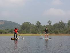 Lake Bajrang Bhaijaan spot de stand up paddle en Inde