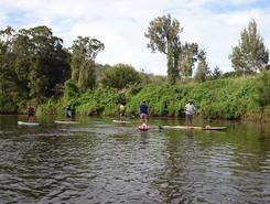 Albert River Beenleigh sitio de stand up paddle / paddle surf en Australia