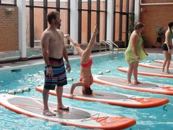 Fitness Forum Club paddle board spot in Canada