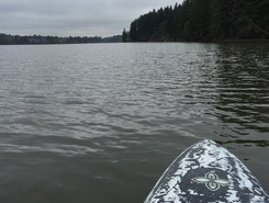 LaCamas Lake  paddle board spot in United States