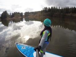LaCamas Lake  sitio de stand up paddle / paddle surf en Estados Unidos