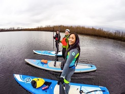 Smith & Bybee Lakes sitio de stand up paddle / paddle surf en Estados Unidos