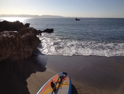 Caxias  paddle board spot in Portugal