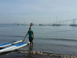 chula vista to tide lands park paddle board spot in United States