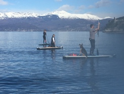 Ispra (Via Riviera) paddle board spot in Italy