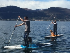 Ispra (Via Riviera) spot de stand up paddle en Italie