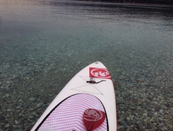 Salò spot de stand up paddle en Italie