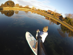 Alverstoke Creek paddle board spot in United Kingdom