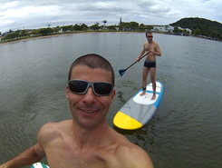 base Aerea de Florianopolis paddle board spot in Brazil
