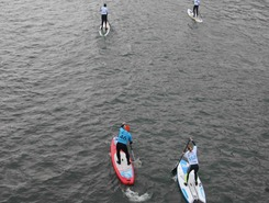 PARIS NAUTIC SUP CROSSING 2015 spot de stand up paddle en France