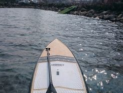 plage Bouveret paddle board spot in Switzerland