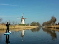 damsevaart paddle board spot in Netherlands