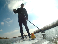 wetzens paddle board spot in Netherlands