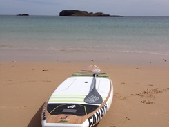 Praia do Martinhal sitio de stand up paddle / paddle surf en Portugal