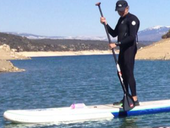 Atazar sitio de stand up paddle / paddle surf en España