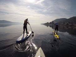 Teufelstisch Bodensee paddle board spot in Germany
