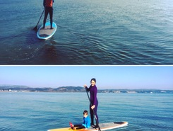 Caregoni spot de stand up paddle en Italie