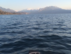 Annecy - plage d'Albigny spot de stand up paddle en France