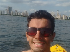 Canal 4 paddle board spot in Brazil