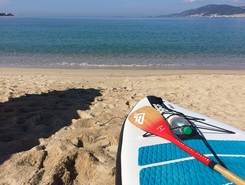 Porticcio spot de stand up paddle en France
