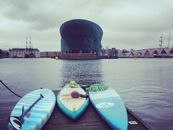 Amsterdam Canals  sitio de stand up paddle / paddle surf en Países Bajos