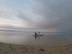 Poingam sitio de stand up paddle / paddle surf en Nueva Caledonia