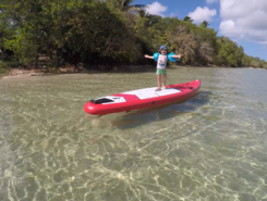 Poingam paddle board spot in New Caledonia