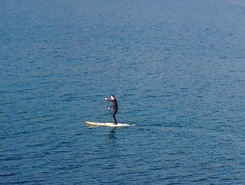 Port Erin paddle board spot in Isle of Man