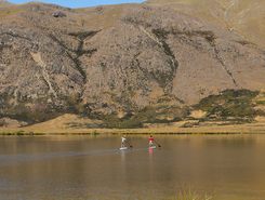 Ashburton Lakes  paddle board spot in New Zealand