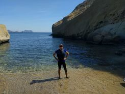 las palmeras paddle board spot in Spain