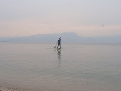 Capuccini  paddle board spot in Italy