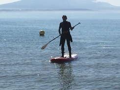 Port de prangins sitio de stand up paddle / paddle surf en Suiza