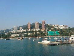 middle island circle paddle board spot in Hong Kong SAR China