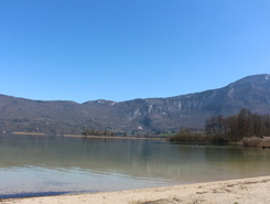 Lac d'Aiguebelette spot de stand up paddle en France