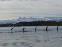 lac du gabas spot de stand up paddle en France