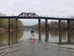 Dutch Gap Conservation Area paddle board spot in United States