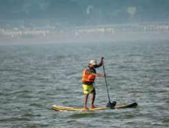 Lake Kolavai sitio de stand up paddle / paddle surf en India