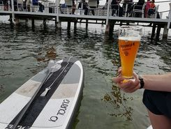 Starnberg Percha sitio de stand up paddle / paddle surf en Alemania