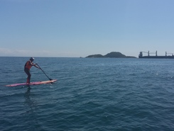 Enseada spot de stand up paddle en Brésil