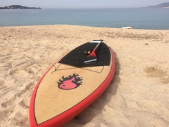 Porticcio paddle board spot in France