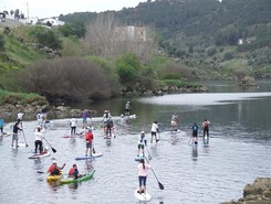 Guadiana sitio de stand up paddle / paddle surf en Portugal