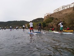 Guadiana paddle board spot in Portugal