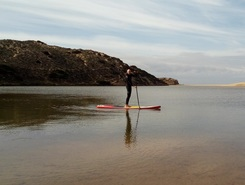 Ribeira da Carrapateira sitio de stand up paddle / paddle surf en Portugal