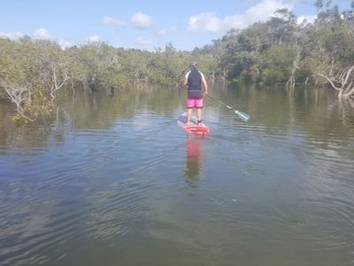 Kingscliffe River spot de stand up paddle en Australie